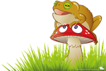Fun With Toadstool by SurrealisticPillow88