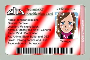 Temporary ID by SailorIronMare