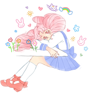 Chibiusa by chickorysticks