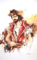 Speed Painting - Gangplank (League of Legends) by Abstractmusiq