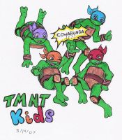 TMNT Kids by ShadOBabe