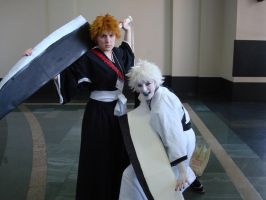 :Bleach: Shiro and Ichigo .AB by Kimariwarui