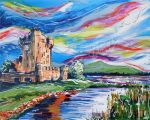 Ross Castle by LauraHolArt