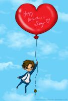 Re-do: Tezuka ValentineBalloon by alybel