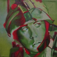 Iraq War Soldier by Art-fire
