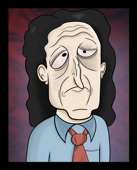 Tommy Wiseau by Buttchin