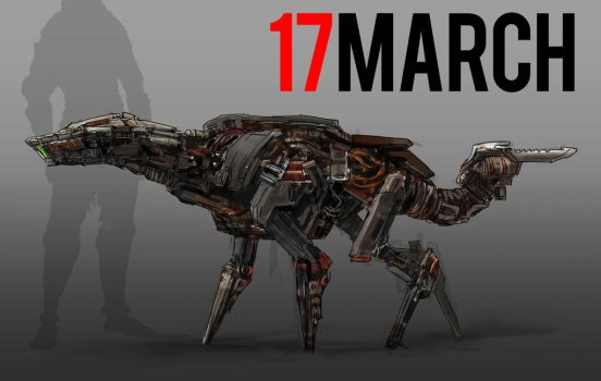 March of Robots 17 by yongs