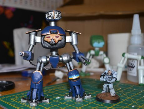 Scratch Built Reaver class Titan by Coconutdawn