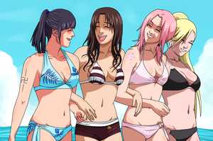 Narutogirls: Kunoichis's party day by ioana24
