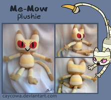 Adventure Time - Me-Mow plushie by caycowa