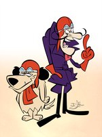 Dick and Muttley by Themrock