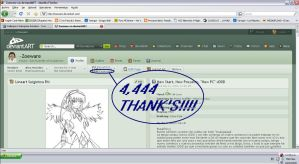 4,444 Pageviews by larg-san