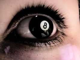 8-Ball Eye by suphafly