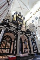 Beautiful Inside of Brugge Cathedral by Lissou-photography