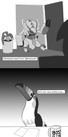 Golisopod's job interview by ZanQda