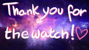 Thank you for the watch by Taviria
