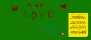 'The right love' Aido story , by Chirachina