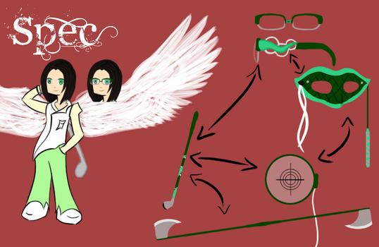 PSG OC: Specs, Guardian Angel by woodenpen