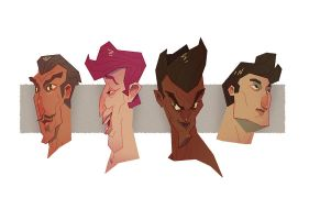 Faces 1 by Robotpunch
