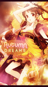 Autumn Anime Girl Vertical Sig :: With Tutorial by Holophrasic