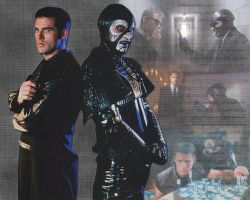 Farscape: John and Harvey by janey-13