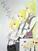 Meet the Kertia boys by Rona67