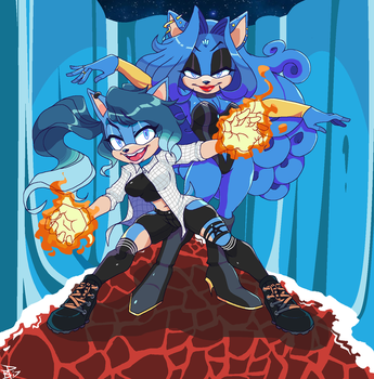 Prepare for trouble...and make it double! by Bahnloopi
