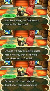Fossil collection complete!! by NintenGustavo