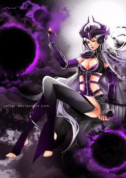 Commission - Syndra by zefiar