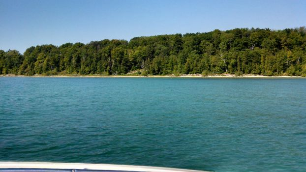 east traverse bay shore line by TheMACchine