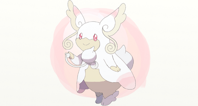 10 : Mega Audino by sketchbase