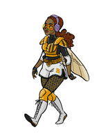 DC Comics Bumblebee redesign by miss-dronio