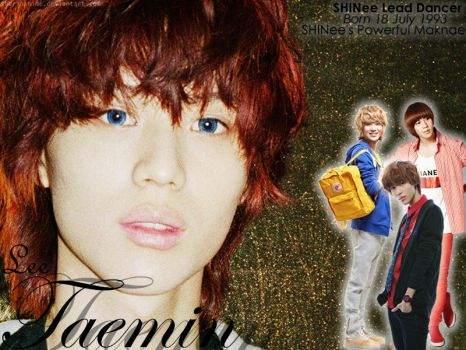 SHINee World's Forever Taemin by SherinaHime