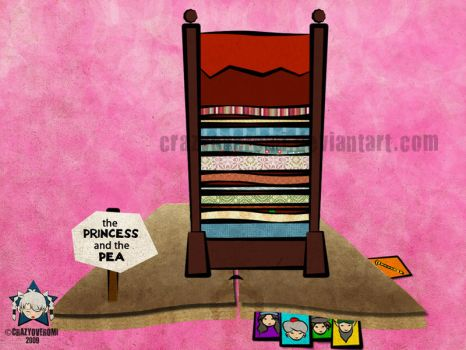 The Princess and the Pea by crazyoveromi