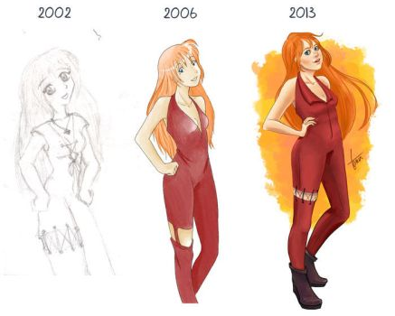 Before and after-2013 by TaniaC