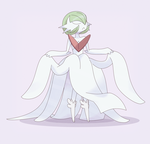 Request: Mega Gardevoir with Mega Audino's Boots by DaDonYordel