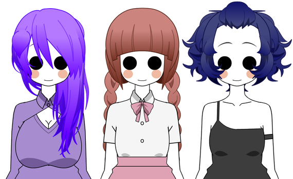 Hair Style Exports: Kisekae Exports Favourites By GlitterVictory On DeviantArt