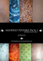 assorted texture pack 1 by parker-stock