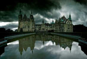 Castle in Moszna by WiciaQ
