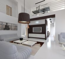Interior for the house in KLP4 by Antioksidantas