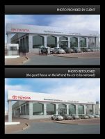 toyota showroom by myworks