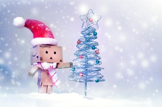 Danbo's First Christmas by Lady-Tori