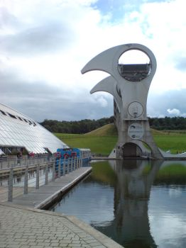 Falkirk Wheel 1 of 3 by Phantomduck181