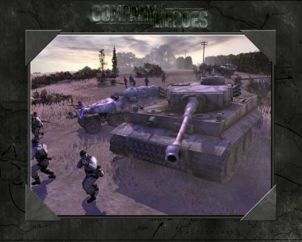 Company of Heroes wallpaper 4 by flipapple