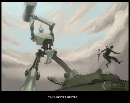 Tank Buster-Buster by syfer707