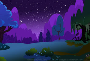 Nighttime background by BuzzyBuzz