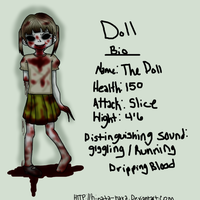 the doll .:l4d infected bio:. by BiisuMonster