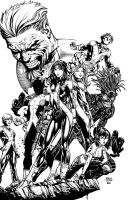 New Mutants cover by k-omer