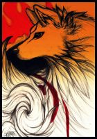 Amaterasu Okami by NienorGreenfield