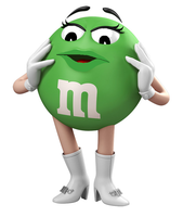 Me as The Green m+m by H2olga362